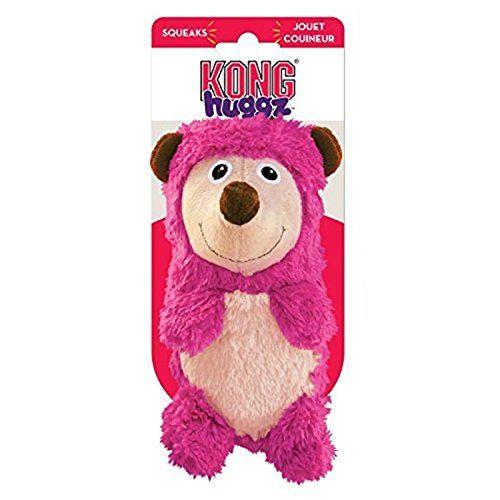 kong-huggz-soft-dog-toy-hedgehog front
