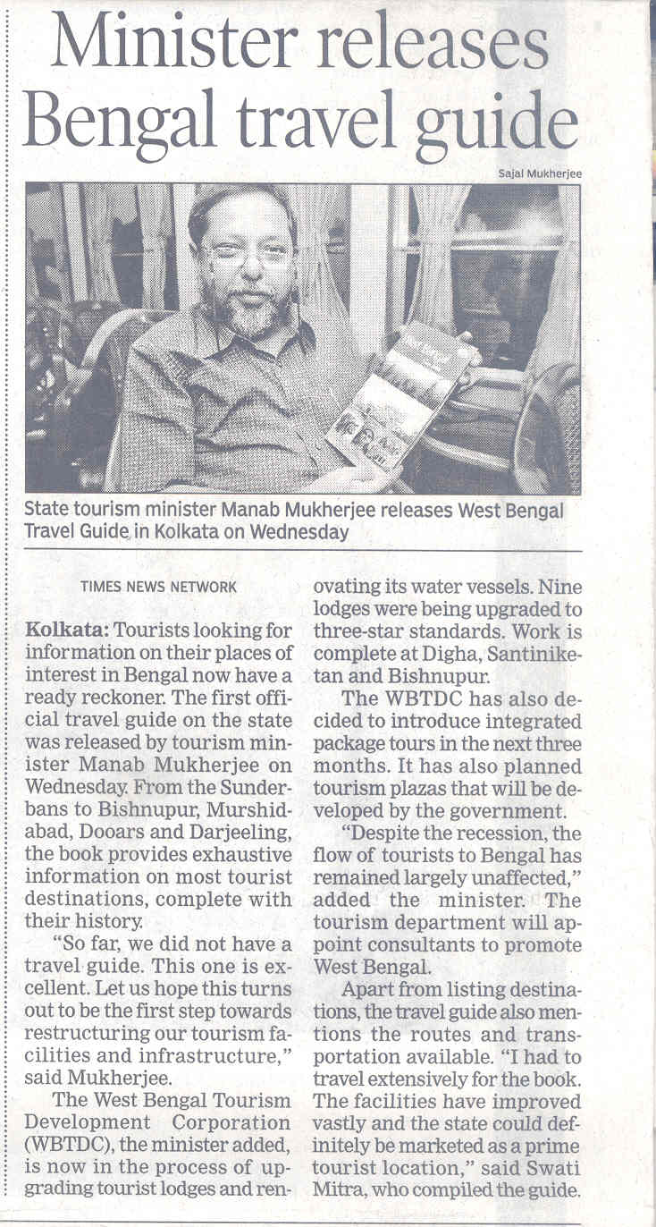 Times of India with book launch, 4 june