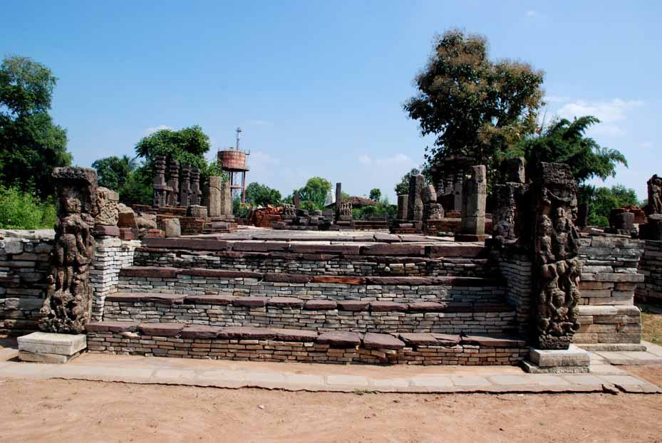 Frontal view of the Baleshwar Mahadev Temple