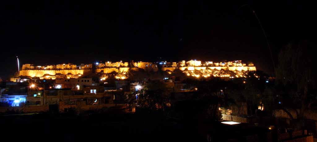 It was the night of Diwali! This photograph was taken from the balcony of my room