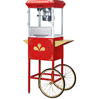 pop corn machines for rent