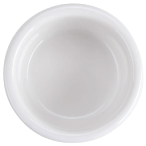 "3"" white ramekin fluted 2 1/2 oz"