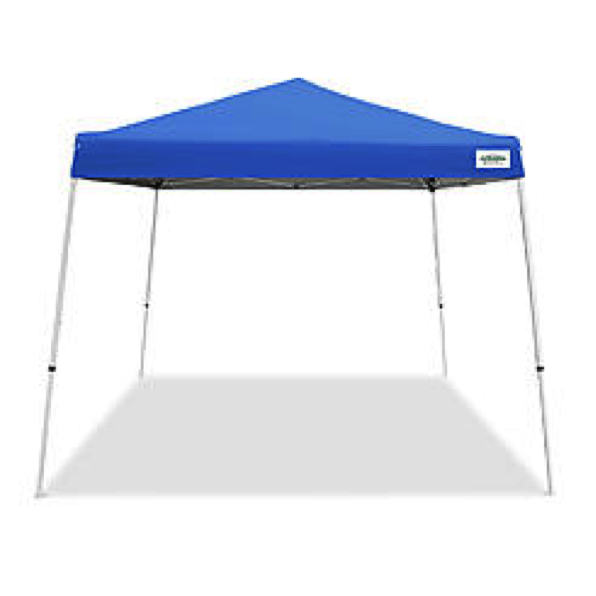 Pop Up blue tent