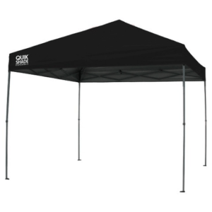 Canopy/Tent - Pop Up 10' x 10' Black Straight Leg
