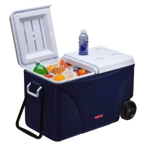 Cooler 75QT blue rubbermaid