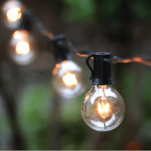 Globe String lights for tents