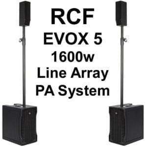 Set - Powerful PA System - Portable