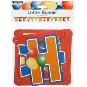 Letter Banner 7ft