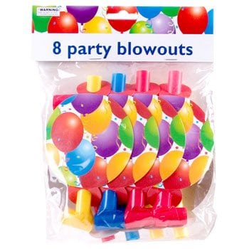 Party Blowouts Serpentins