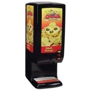 "Nacho Cheese Dispenser with Adjustable Settings (10W""x16D""x28""H) UL approved. ""Gold Medal"""