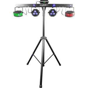 Chauvet Lights GigBAR 4-in-1 Effects LED disco derby, LED pars, Laser & Strobe