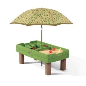Umbrella Sand/Water Activity Center for Children's ages 2 & up - 20.75 H 26 W 45.5 D