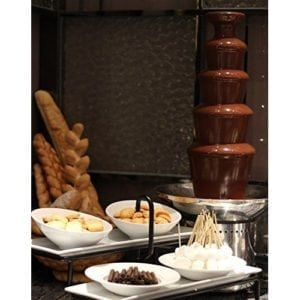 Motion 27′ 5-Tier Stainless Steel Chocolate Foundue Fountain