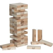 Jenga GIANT Hardwood Game (Ages 12+)
