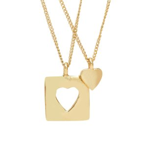 Ten Thousand Villages Heart Necklace