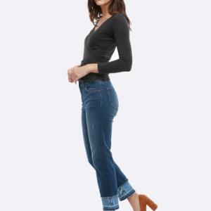 Able Elena Skinny Straight Jeans