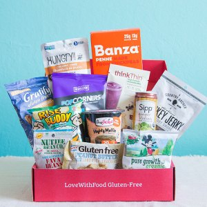 Love with Food by SnackNation Gluten Free Box