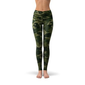 Tree Tribe Forest Camo Leggings