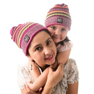 Beyond Beanie Pink Rainbow Mom Daughter