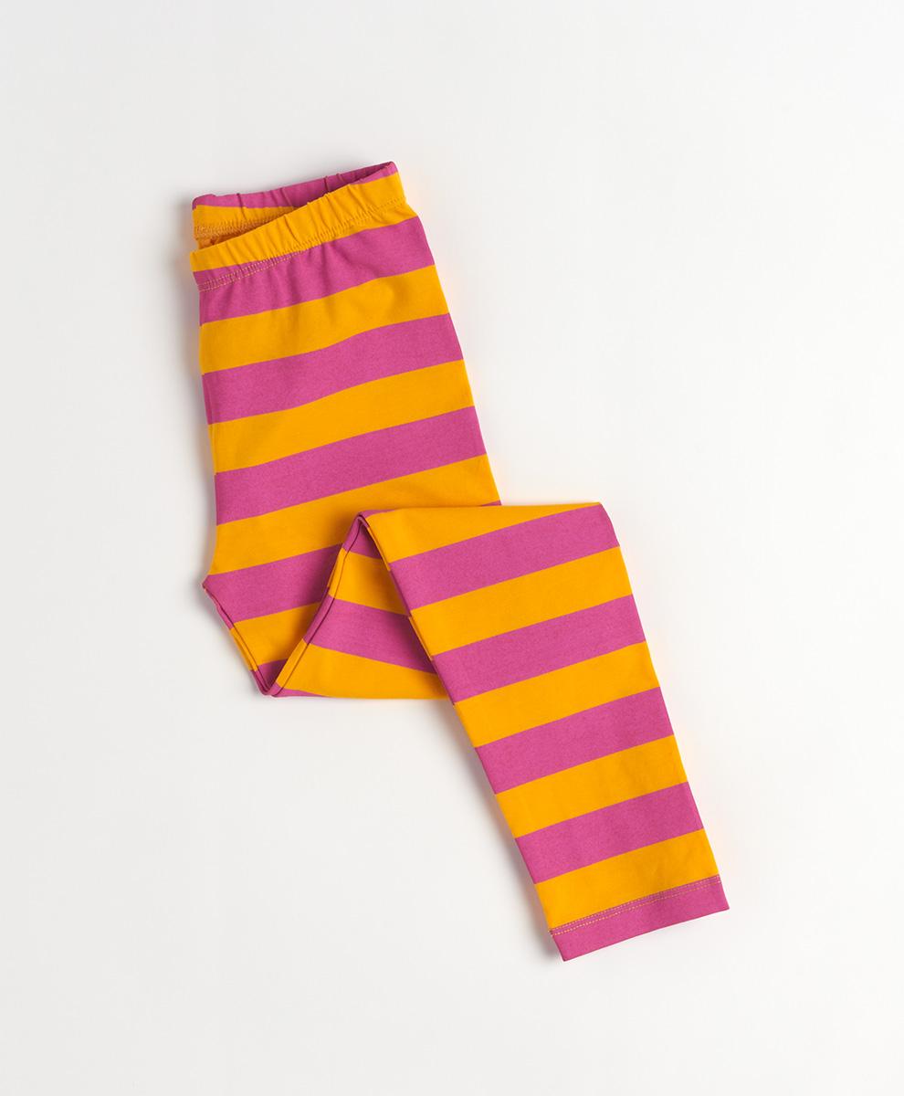 Striped Kids Leggings