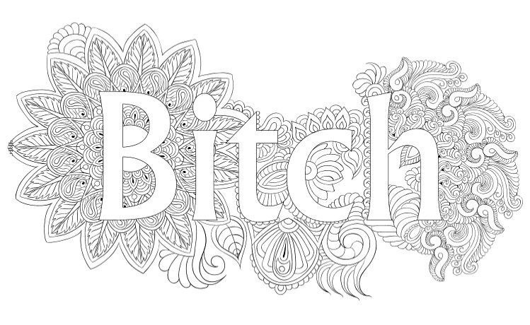 Best 23 Coloring Pages for Adults Curse Words