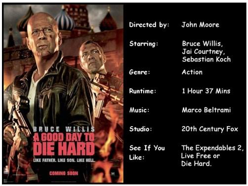 A Good Day To Die Hard Movie Info