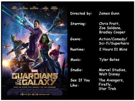 Guardians of the Galaxy movie info