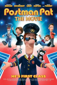 Postman Pat the movie poster
