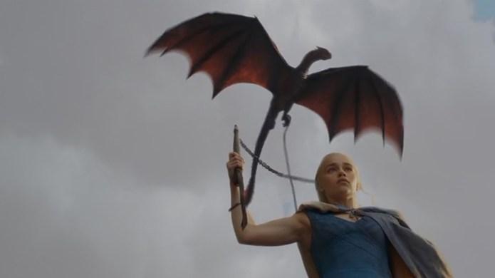 Danerys Dragon Game Of Thrones S3E04