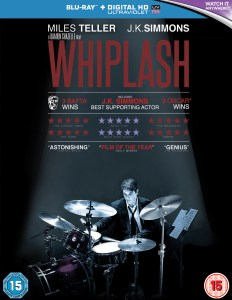 Whiplash Blu-ray packshot
