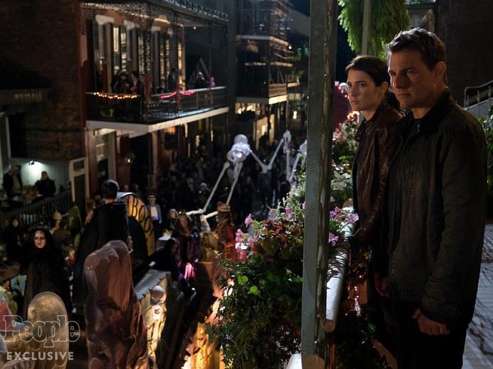 Jack Reacher- Never Go Back, Tom Cruise Cobie Smulders