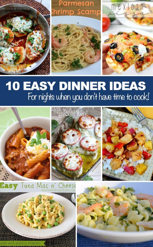 Ideas Easy Dinner Meals