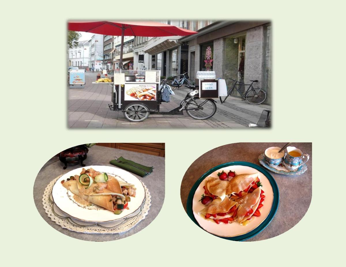 French Crepes in Paris, France