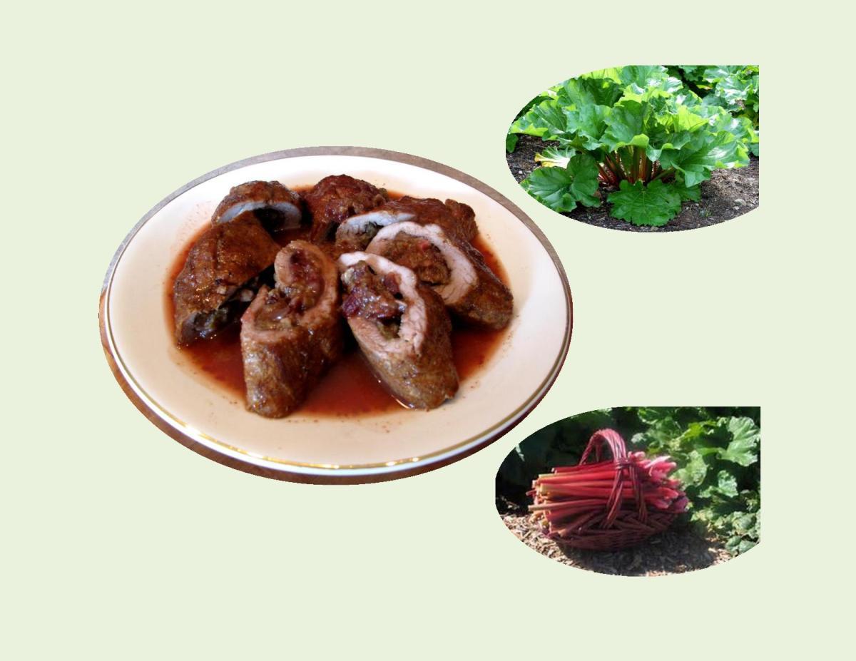 Spiced Pork Tenderloin with Rhubarb Chutney