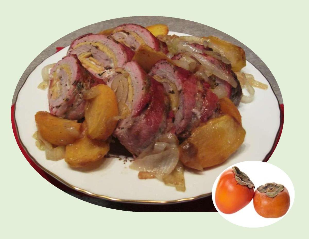 Persimmon Pork Tenderloin