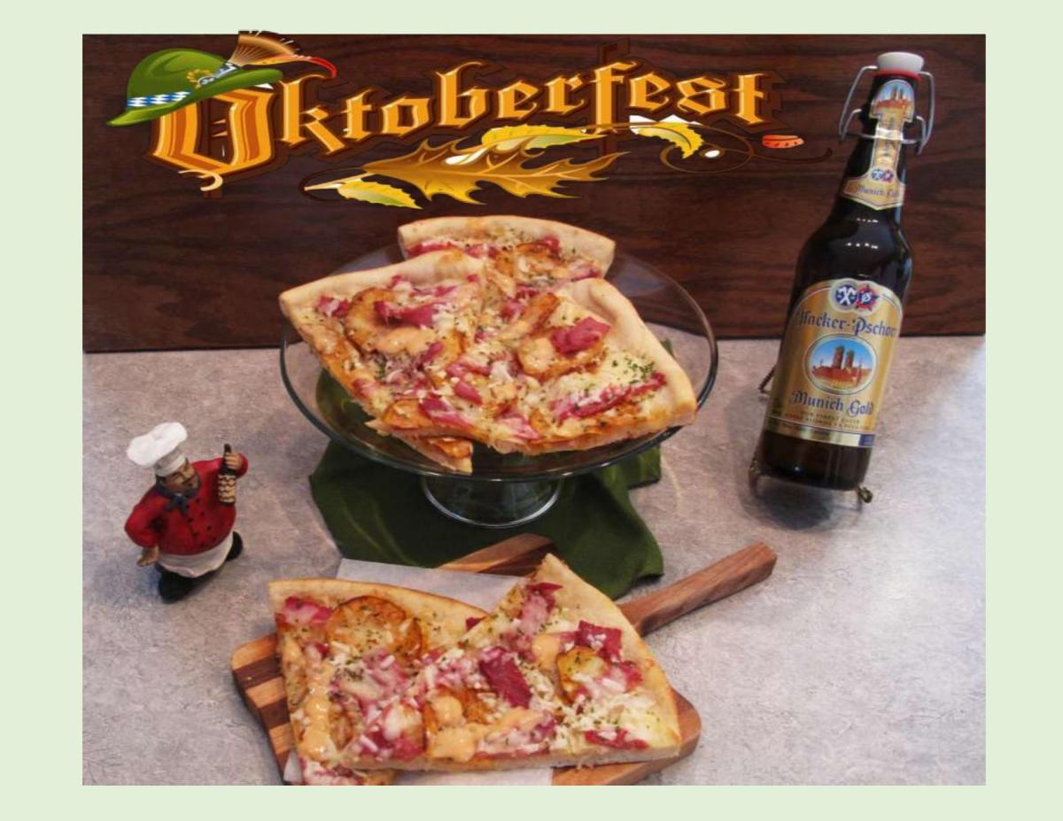 Corned Beef & Cabbage Pizza