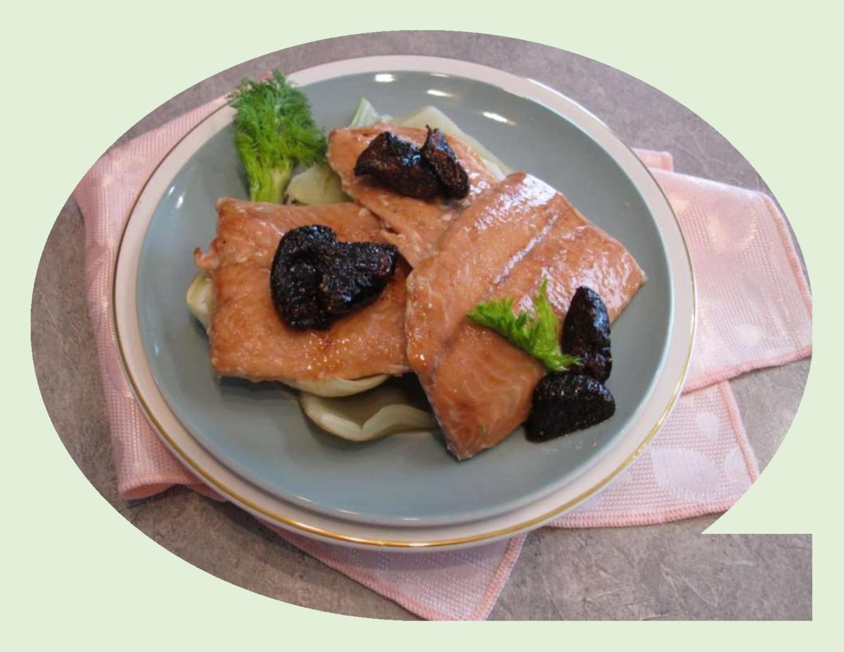 Salmon with Roasted Figs & Braised Fennel