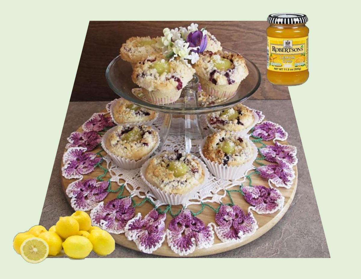 Wild Blueberry Lemon Drops