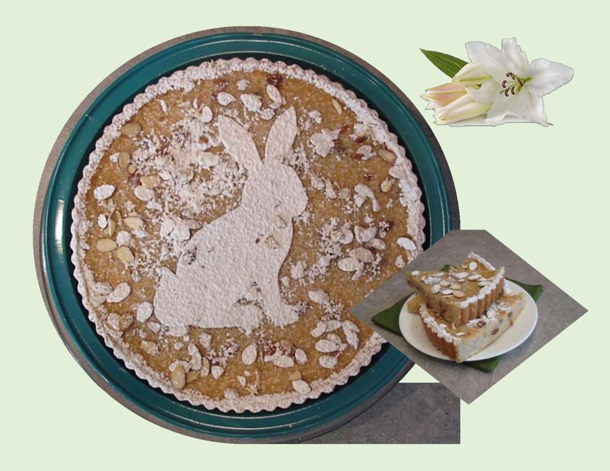 Swiss Easter Rice Tart