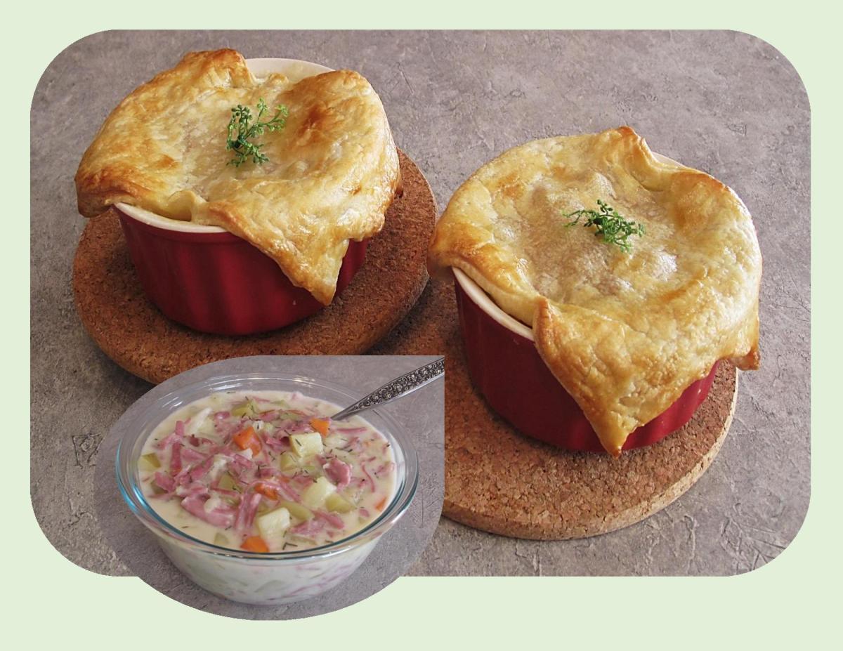 Corned Beef & Cabbage Pot Pie