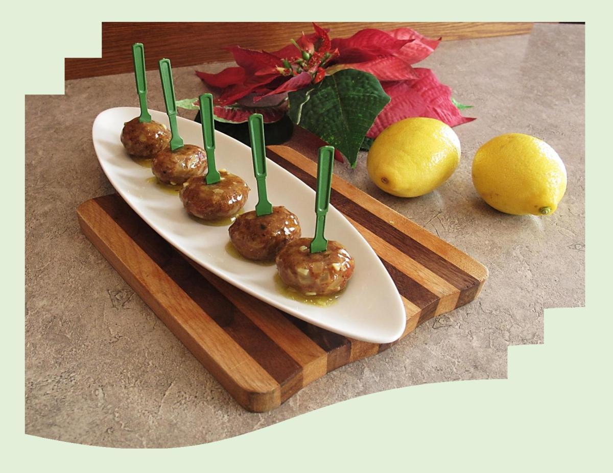 Lemon Chicken Meatballs
