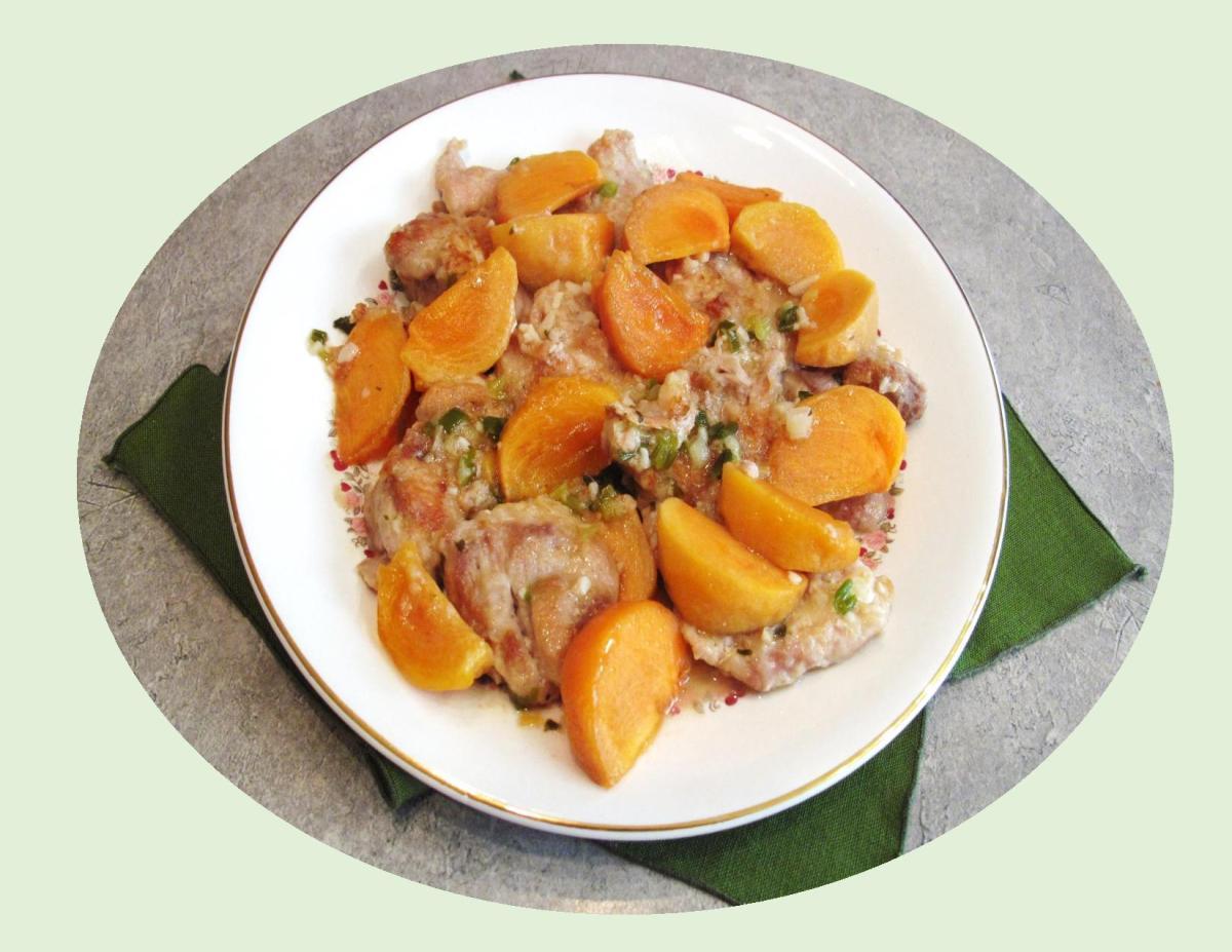 Persimmon Chicken Thighs