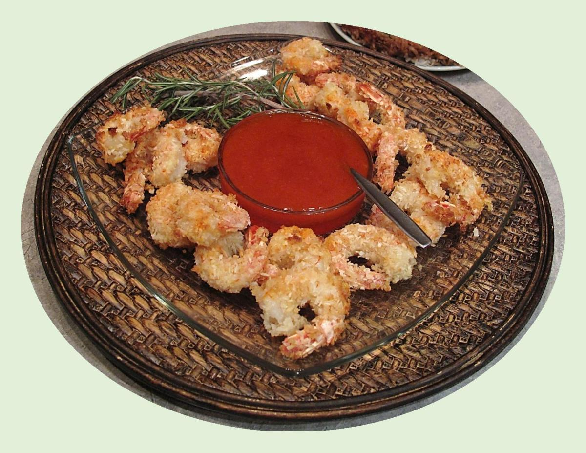 Coconut Shrimp w/ Sweet & Spicy Sauce