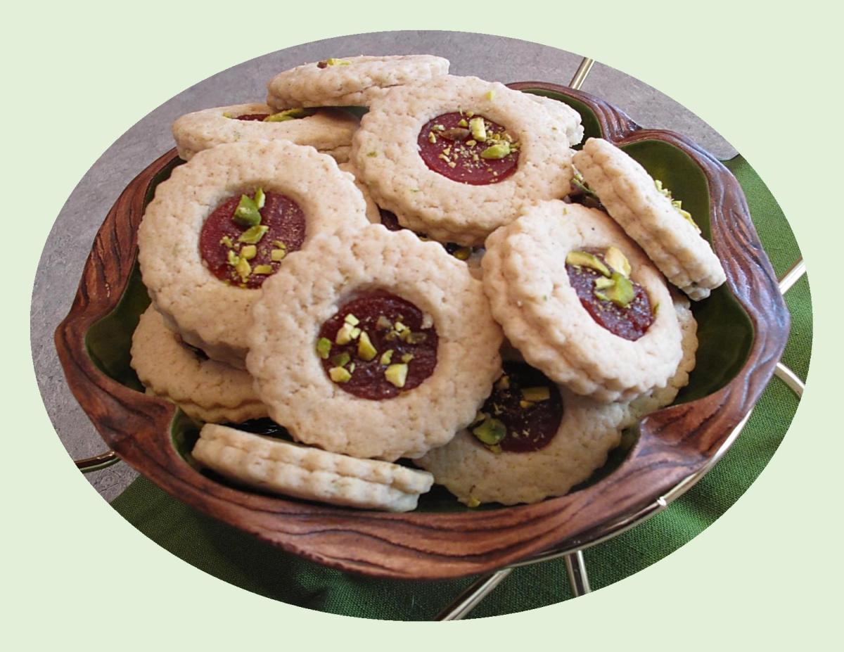 Cuban Sugar Cookies w/ Guava & Lime