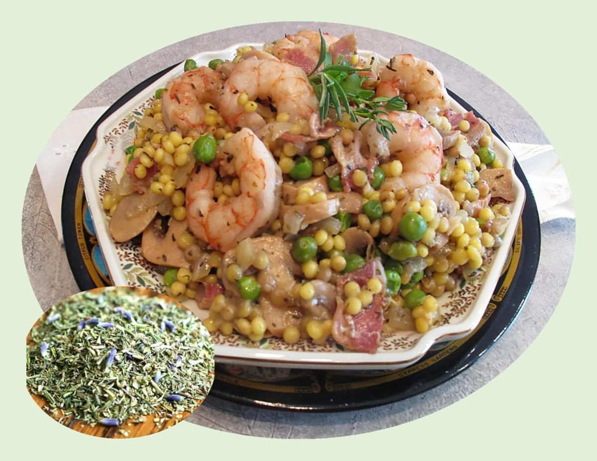 Herbs de Provence Shrimp
