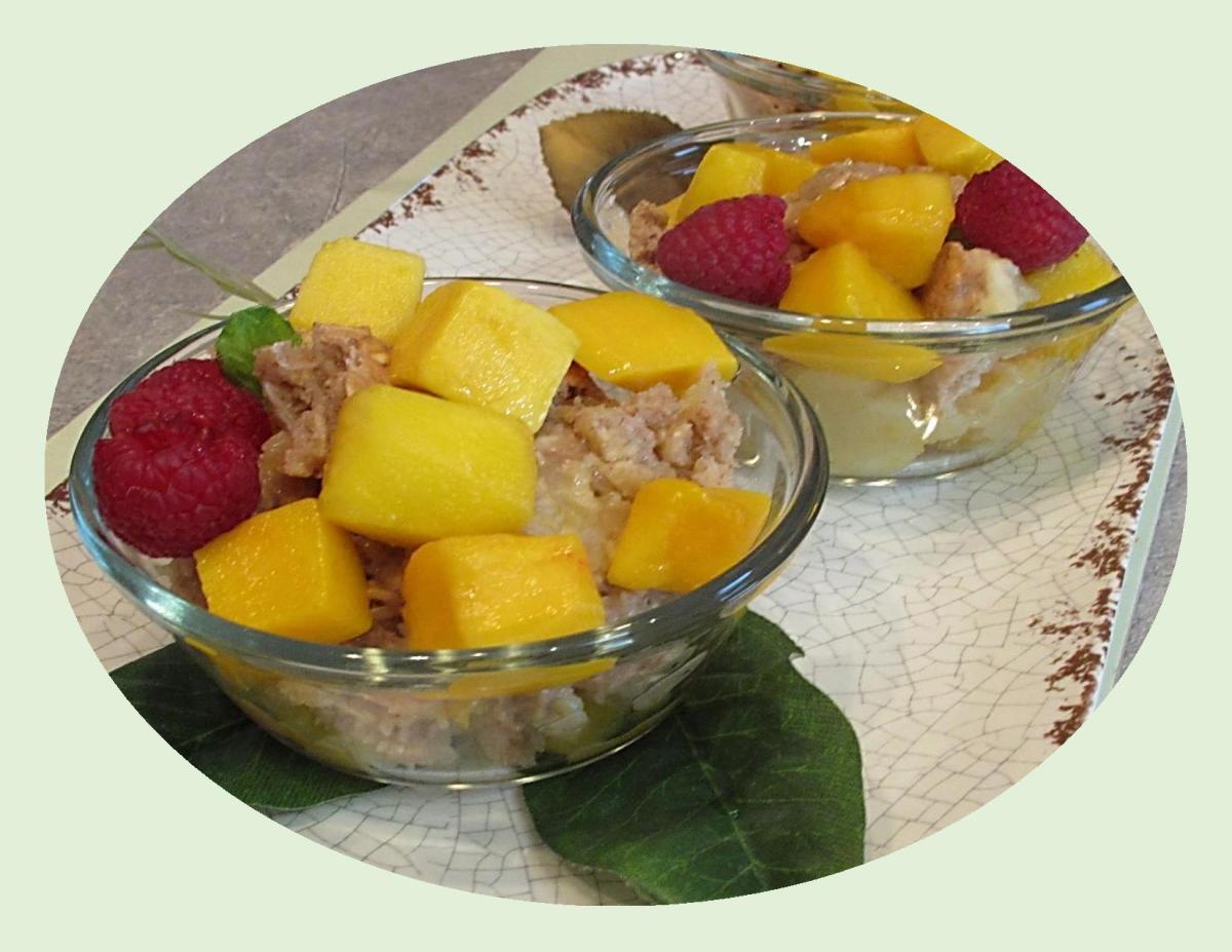 Mango Cobbler