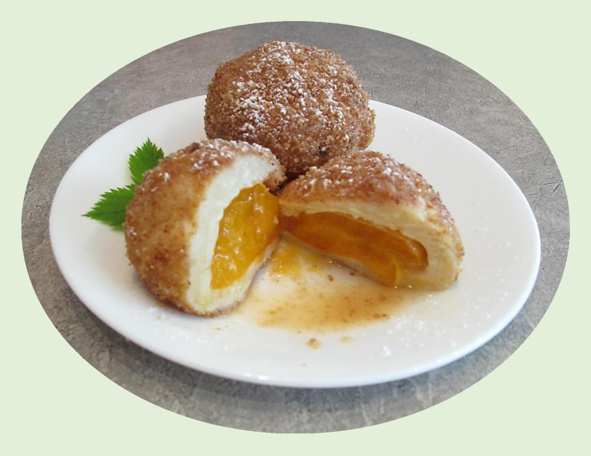 Austrian Apricot Dumplings