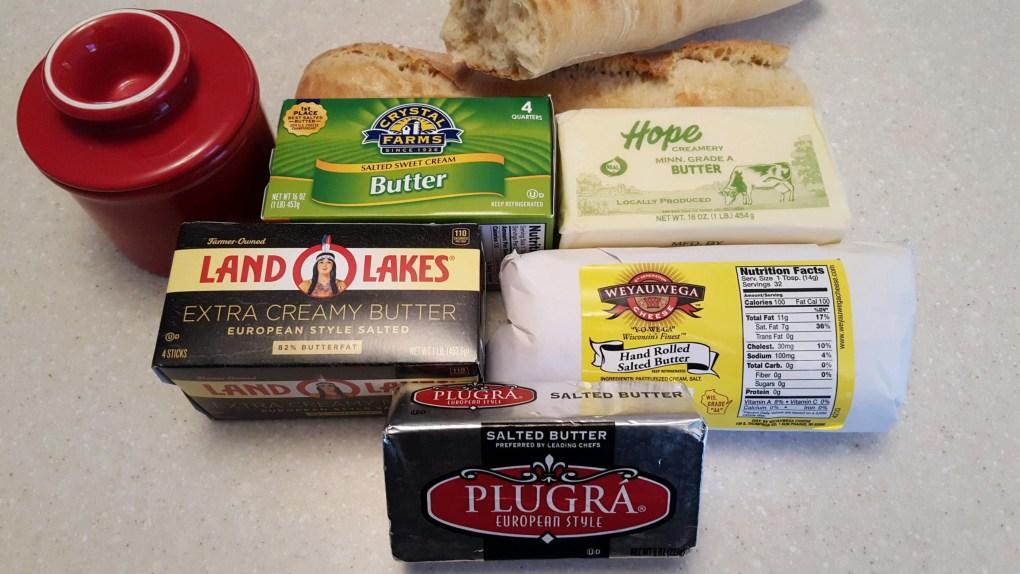 Minnesota Butter Tasting
