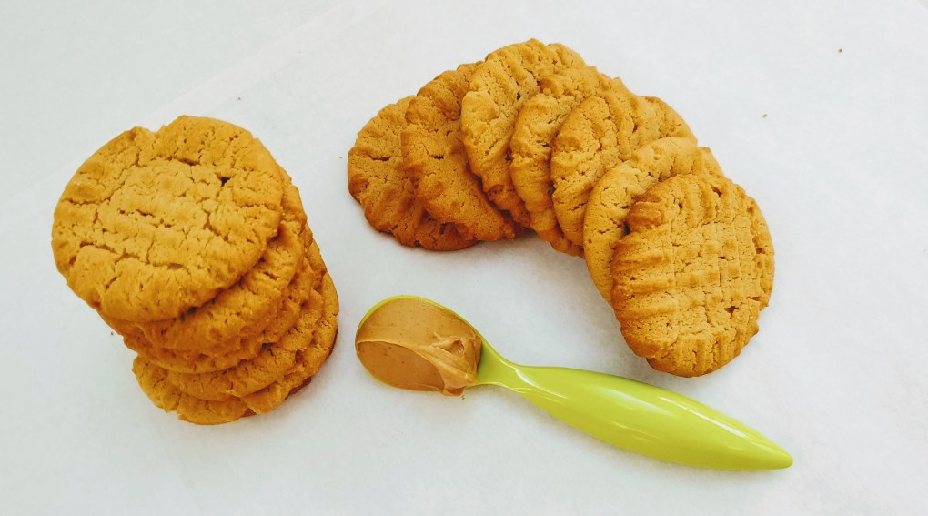 PB Cookies with pb