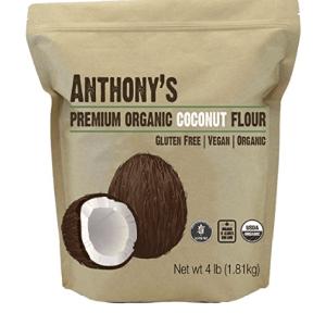 Anthony's Organic Coconut Flour, 4lbs